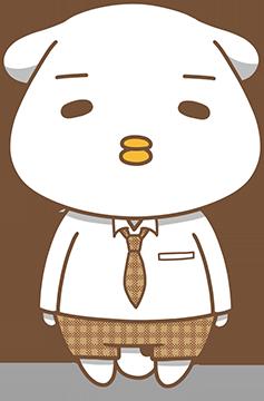 チキン犬(英光社イメージキャラ)